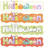 Halloweenn text Royalty Free Stock Photography