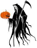Halloweenowa żniwiarka Zdjęcia Stock