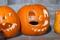 Halloweenowa bani głowa Zdjęcia Royalty Free