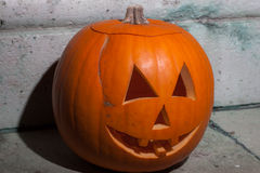 Halloweenowa bani głowa Fotografia Royalty Free