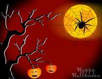 Halloweenowa bania Zdjęcia Stock