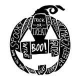 Halloweenowa bania ilustracji