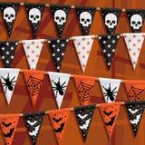 Halloweenowa chorągiewka Obraz Royalty Free