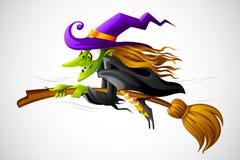 Halloweenowa Czarownica Obrazy Stock