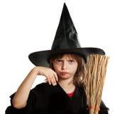 Halloweenowa czarownica Zdjęcia Royalty Free