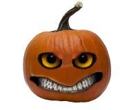 Halloweenowa dźwigarki o lampionu bania Zdjęcia Royalty Free