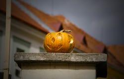 Halloweenowa dekoracja obraz stock