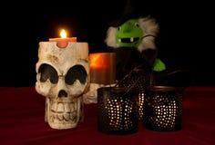 Halloweenowa Dekoracja Bckground fotografia stock