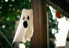Halloweenowa duch dekoracja Obrazy Stock