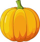 Halloweenowa dyniowa kreskówka ilustracji