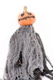 Halloweenowa dyniowa lala Fotografia Stock