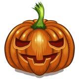 Halloweenowa Dyniowa twarz Obrazy Royalty Free