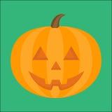 Halloweenowa Dyniowa wektorowa ilustracja Zdjęcia Royalty Free