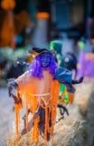 Halloweenowa dziwożony postać zdjęcia royalty free