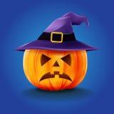 Halloweenowa horror nakrętka Ilustracji
