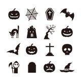 Halloweenowa ikona Zdjęcie Stock