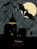 Halloweenowa ilustracja Zdjęcia Royalty Free