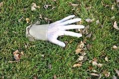 Halloweenowa kostiumowa ręka Zdjęcia Royalty Free