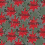 Halloweenowa krew royalty ilustracja