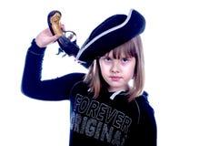Halloweenowa nastoletnia dziewczyna zdjęcia stock