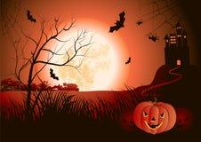 Halloweenowa noc Zdjęcie Stock
