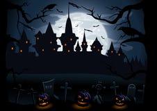 Halloweenowa noc Fotografia Stock