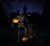 Halloweenowa noc Obraz Stock