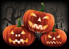 Halloweenowa o temacie ilustracja fotografia royalty free