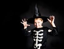 Halloweenowa pocztówka Zdjęcie Stock