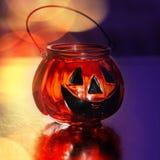 Halloweenowa szklana bania Zdjęcie Royalty Free