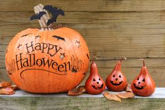 Halloweenowe banie Zdjęcie Stock