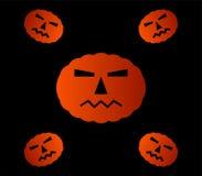 Halloweenowe banie ilustrować Obraz Stock