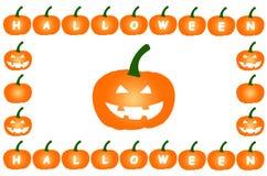Halloweenowe banie na Odosobnionym Białym tle royalty ilustracja