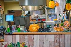 Halloweenowe dekoracje zdjęcie royalty free