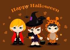 Halloweenowe Maskotki Zdjęcie Stock
