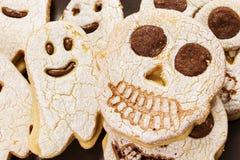 Halloweenowi ciastka Obrazy Royalty Free