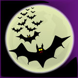 Halloweenowi nietoperze Obraz Royalty Free