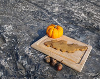 Halloweenowi nietoperzy ciastka Obrazy Royalty Free