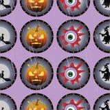 Halloweenowi oczy ilustracji