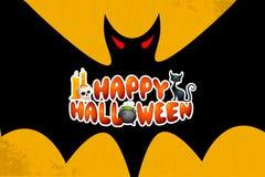Halloweenowi powitania Zdjęcie Stock