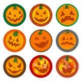 Halloweenowi Wektorowi napojów kabotażowowie Zdjęcie Stock