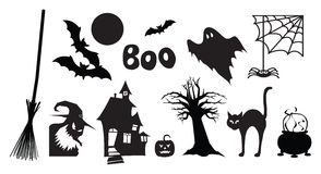 Halloweenowi Wizerunki Zdjęcia Royalty Free