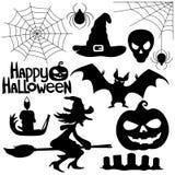 Halloweenowi znaki Obraz Royalty Free