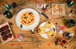 Halloweenowy świąteczny jedzenie Zdjęcie Royalty Free