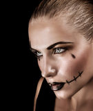 Halloweenowy świętowania pojęcie Obraz Royalty Free