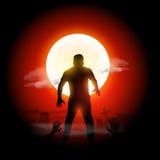 Halloweenowy żywy trup Obrazy Stock