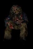 Halloweenowy żywy trup Fotografia Stock