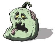 Halloweenowy żywych trupów Undead zwłoki JackoLantern b royalty ilustracja
