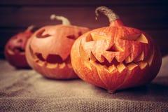 Halloweenowy bani tło Zdjęcia Royalty Free