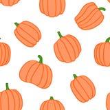 Halloweenowy bania wzór Obraz Stock